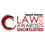 1 Finance Monthly Law Awards 2013 Shortlisted