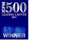 ICFM 500 Leading Lawyer Winner 2014