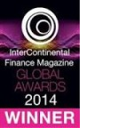 InterContinental Finance Magazin Global Awards Winner 2014