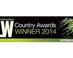 LW Country Awards Winner 2014