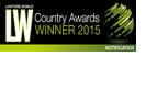 LW Country Awards Winner 2015