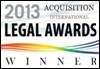 Legal Awards Acquisition 2013